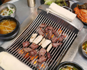 Visiting 'seagull meat alley' in central Seoul