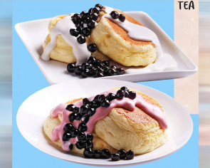 $5.80 souffle pancakes with pearls at Gong Cha Singapore's new Causeway Point outlet