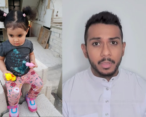 Taufik Batisah's niece is 'trapped' in Lebanon and he's seeking donations to bring her back safely