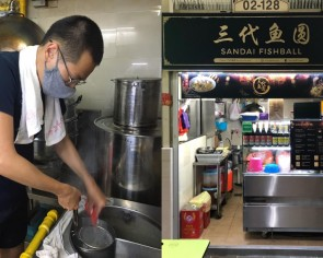 Young Amoy Street hawker who had to close stall due to CB hopes people can give him a shot after reopening