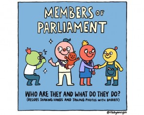 GE2020: Local artist breaks down the duties and responsibilities of MPs in viral comic strip