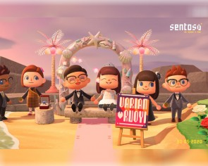 Now Singaporeans can get married in Sentosa on Animal Crossing: New Horizons