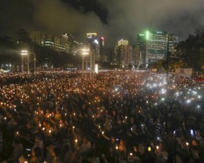 Hong Kong's Tiananmen vigil has been banned, but the city's spirit of commemoration for June 4 shines on