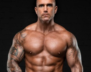 This former celebrity bodyguard's abs 'are made in the kitchen'
