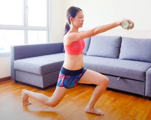 #Momhacks: Easy home workout - no fitness equipment needed, only canned food