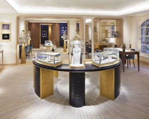 Jewellery house Chaumet's historic Paris flagship gets a brand new look