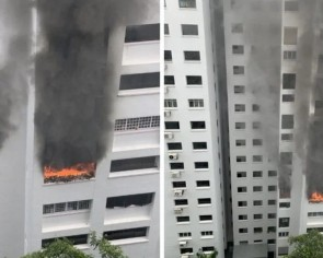 80 residents evacuated after fire breaks out in Bukit Panjang flat