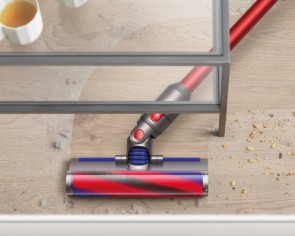 At just 2.15kg, the Dyson V8 Slim is its lightest vacuum cleaner yet