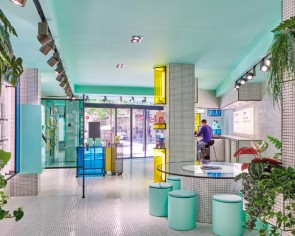 This futuristic, colourful concept store in Spain puts the fun in learning
