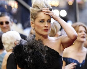 Sharon Stone once struck by lightning while ironing