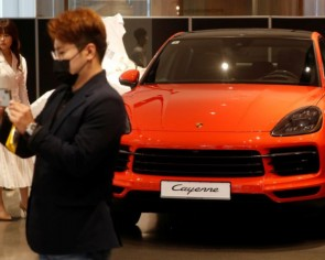 South Korea's wealthy, passed over by pandemic pain, splurge on Porsches and BMWs