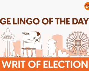 GE lingo of the day: 'Writ of Election' explained