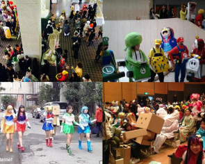 Japanese university's convocation is one giant cosplay party