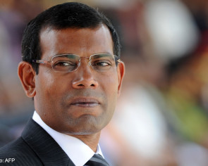 Jailed Maldives ex-leader leaves for surgery in Britain