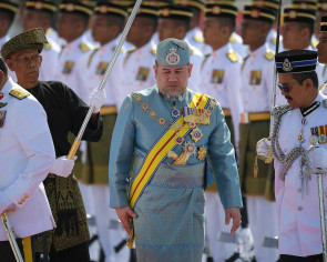 Malaysian king: Government will address ringgit depreciation
