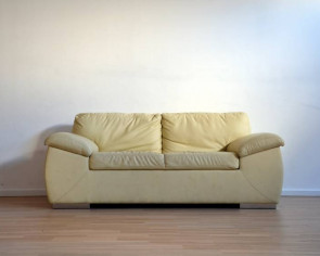 How to save a peeling leather sofa