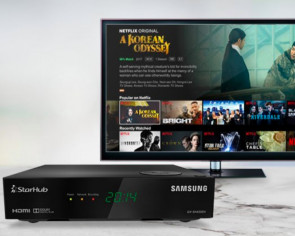 StarHub first in Singapore to offer entertainment, broadband and Netflix