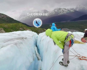 Stuck at home? Cross a glacier virtually, watch animals sleep