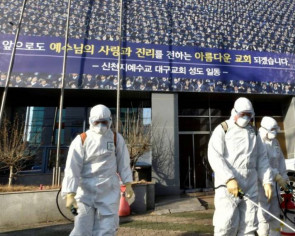 Coronavirus cluster emerges at another South Korean church, as others press ahead with Sunday services