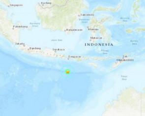 6.3-magnitude quake strikes south of Indonesia's Bali