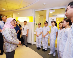 President Halimah gives 'in-principle support' to draw on past reserves for 2nd coronavirus assistance package