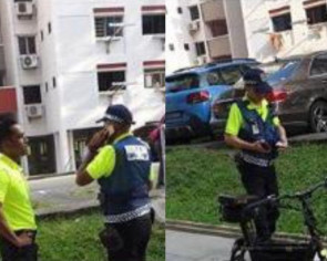 Did officers push an e-scooter rider into a Bukit Batok drain? Here's what LTA said