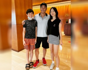 Allan Wu talks about parenting and how he is helping his daughter get into an Ivy League school