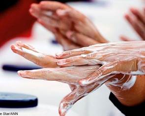 WHO promotes hand-washing to combat the spread of germs