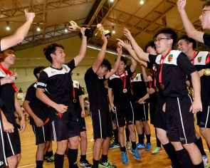 School sports: RI defends A Division floorball crown