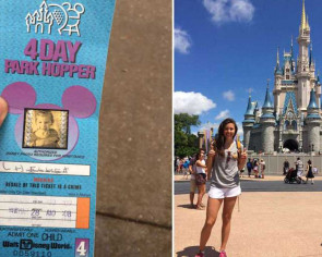 Disney World accepts unused theme park ticket - 22 years later