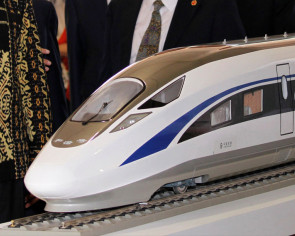 China builds bullet trains for markets such as Southeast Asia and other Belt areas