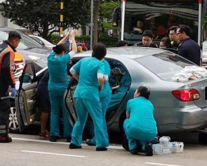 Kudos to Farrer Park Hospital nurses and doctors for rushing to rescue driver who suffered stroke