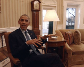 Obama is now giving tours of the White House, in VR