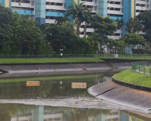Two empty coffins found floating in Kallang River to residents' surprise