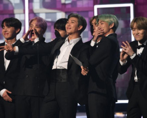 BTS makes historic debut at Grammys