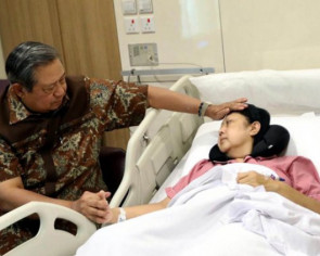 Former Indonesian first lady admitted to ICU