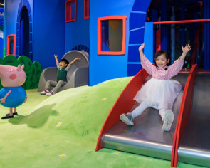 Peppa Pig theme park enlightens Shanghai kids