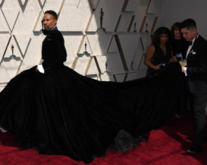 Billy Porter's ball gown defies gender norms at the Oscars