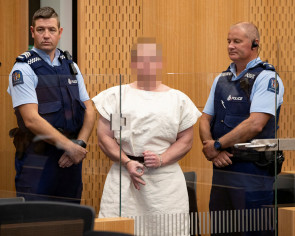 New Zealand shooting suspect Brenton Tarrant appears in Christchurch court