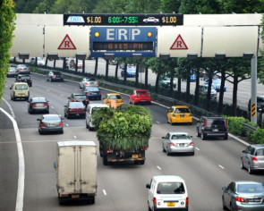 ERP charge to go up by $1 at two gantries from May 6