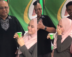 Malaysian mum-to-be has her Milo cravings satisfied with a special delivery to her house