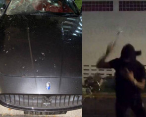 Man filmed wrecking Maserati in Ang Mo Kio carpark, police investigating