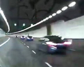 9 cars spotted participating in 'Formula 1 race' in KPE tunnel: TP investigating