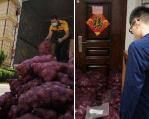 'I cried for 3 days, now it's your turn': Woman in China sends 1,000kg of onions to cheating ex's home