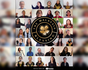 80 Malaysian churches unite online to sing 'The Blessing' in 7 languages in viral video