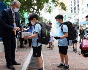 Hong Kong international schools reopen after 4 months of closures