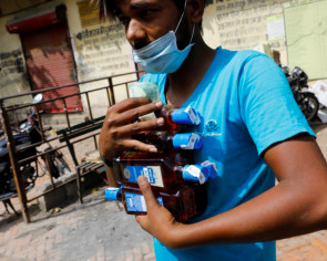 India's resumption of alcohol sales during lockdown is fuelling a rise in domestic violence