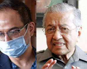 Mahathir on Riza Aziz: He retains half the stolen money and gets acquitted