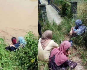 Teacher jumps into rapid waters to rescue 5 teenagers who fell off cliff in Malaysia