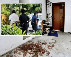 Woman, 39, arrested after bloody fight with husband in Punggol flat